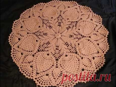 Crochet home rug #8// table runner  part 1/2/alfombra de crochet/вязаный крючком домашний коврик