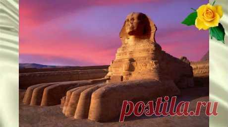 Египетский Сфинкс - загадочная скульптура, опровергающая взгляды египтологов