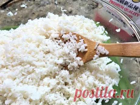 РИС ДЛЯ СУШИ. Правильный Рецепт. Получается Всегда! How to Cook Rice for Sushi