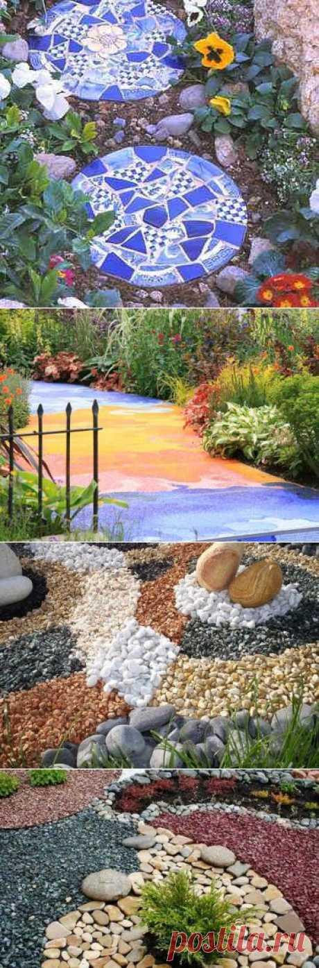 Садовые дорожки - красивые решения. :: Про ремонт и дизайн