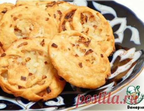 Узбекские луковые лепeшки – кулинарный рецепт