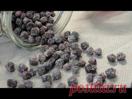 Цукаты из черноплодной рябины