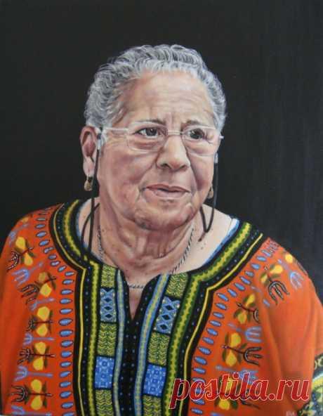 Современная британская художница. Elizabeth A Adams
