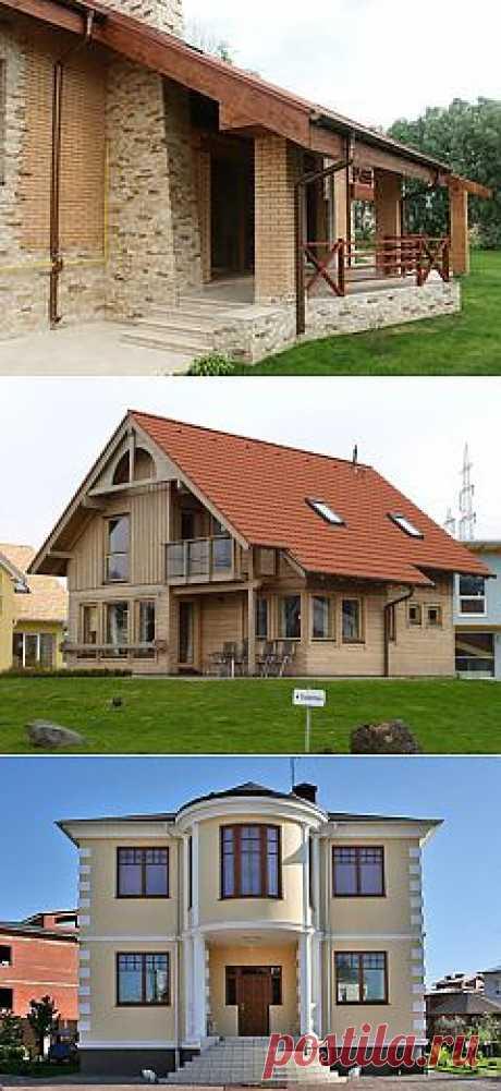 Какой материал лучше выбрать для строительства частного дома.