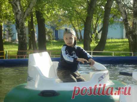 Я на лодочке плыву.....