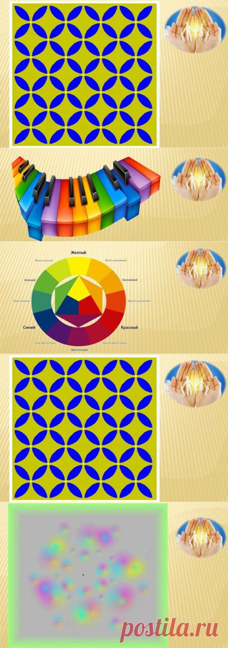 Как цвет оптически воздействует на наш глаз. - Физиология восприятия цвета | Семейный психолог | Яндекс Дзен