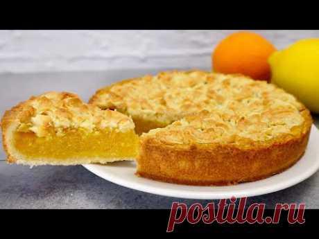 Se hai 1 limone e 1 arancia, prepara questa deliziosa torta # 282 - YouTube