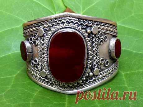 Vintage Carnelian Afghan Kuchi Tribal Bracelet,Afghan Jewelry,Bohemian,Antique Bracelet,Festival,Hippie,Gypsy Boho Bracelet   Flickr - Photo Sharing!