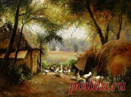 Реалистичные сцены бытовой жизни украинцев прошлого от Юрия Журки