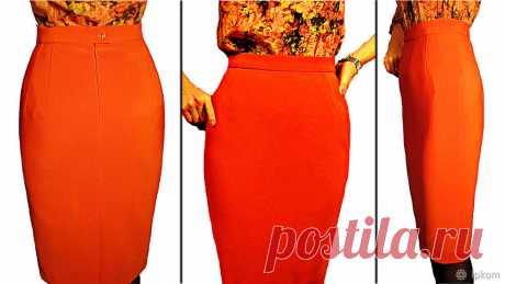 Как построить идеальную выкройку прямой юбки? Часть 1 | Журнал Ярмарки Мастеров
