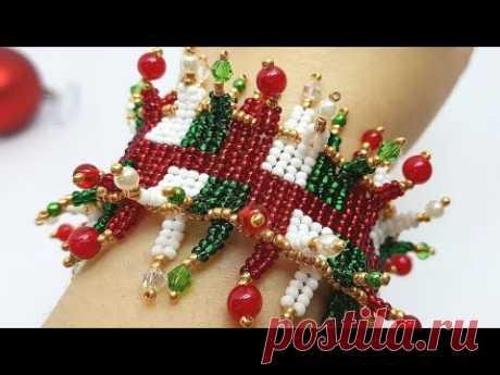 Браслет из бисера/Браслет из бусин/Как сделать браслет/Beaded bracelet/Diy bracelet