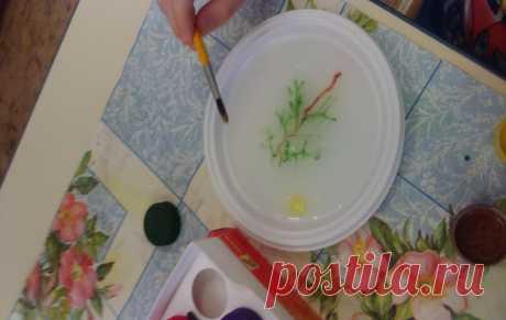 Необычно, волшебно и красиво: техника эбру рисования на воде в домашних условиях