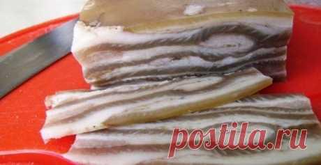 """Деликатес """"Таёжный"""", или безумно вкусный продукт из простых свиных шкурок"""