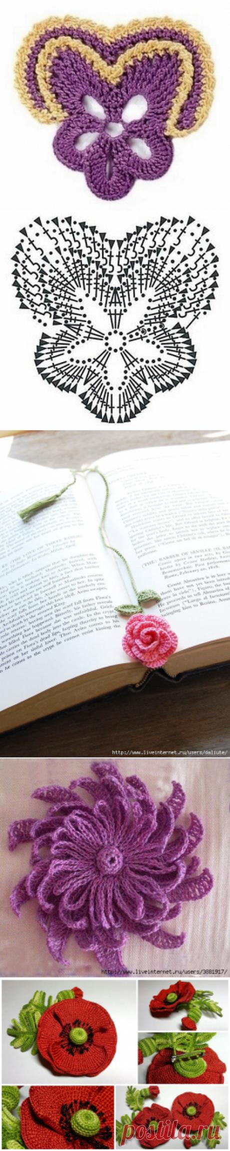 Цветы крючком. | Записи в рубрике Цветы крючком. | Дневник барби64