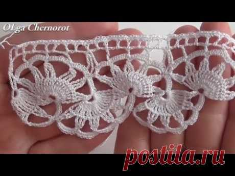 Extremely beautiful Tape lace Border