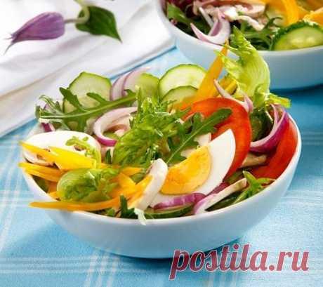 Витаминная пора: 7 рецептов легких летних салатов / салаты / 7dach.ru