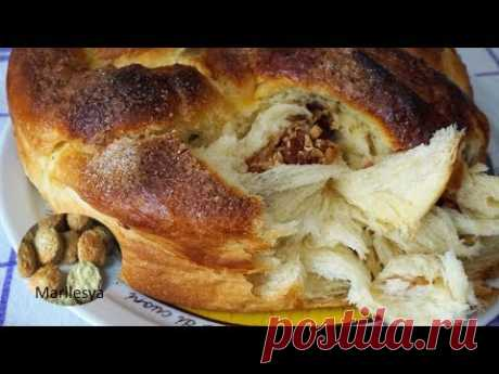 КОЗУНАК нереально слоистый болгарский кулич!/KOZUNAK Easter Bread