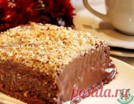 Шоколадный торт-десерт - кулинарный рецепт
