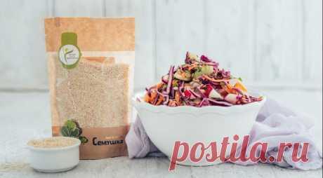 Весенний салат из красной капусты, морковки и яблок | Вкусные рецепты