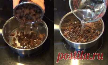 WATER WITH RAISIN IN THE MORNING TO CLEAR THE LIVER IN ONLY 2 DAYS