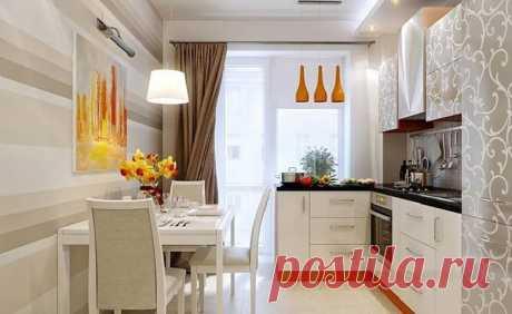 35 кв. м c небольшой кухней со столовой  Небольшая квартира состоит из одной комнаты с кухней, холла и ванной комнаты. Как спроектировать кухню с обеденным уголком? Где планировать интимное место для сна? Архитекторы предложили два варианта…