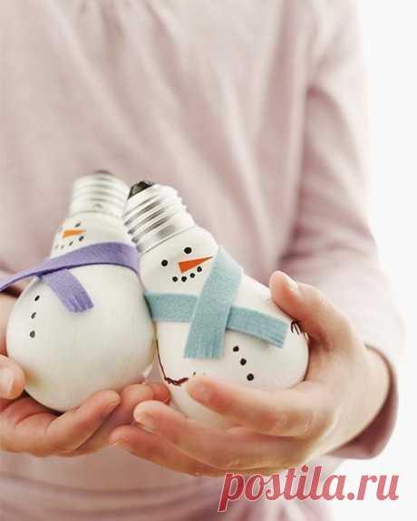 Самые оригинальные новогодние игрушки своими руками, новогодние украшения фото идеи