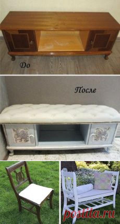 Поиск на Постиле: переделки старой мебели