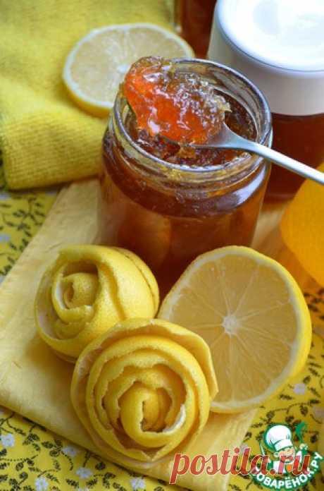 Лимонный конфитюр - кулинарный рецепт