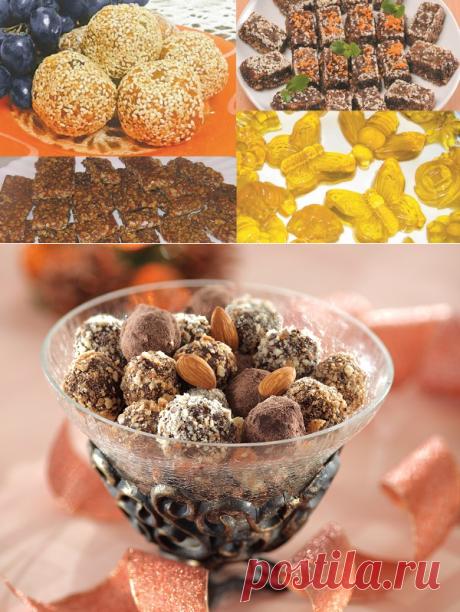 Как приготовить домашние конфеты: лучшие рецепты