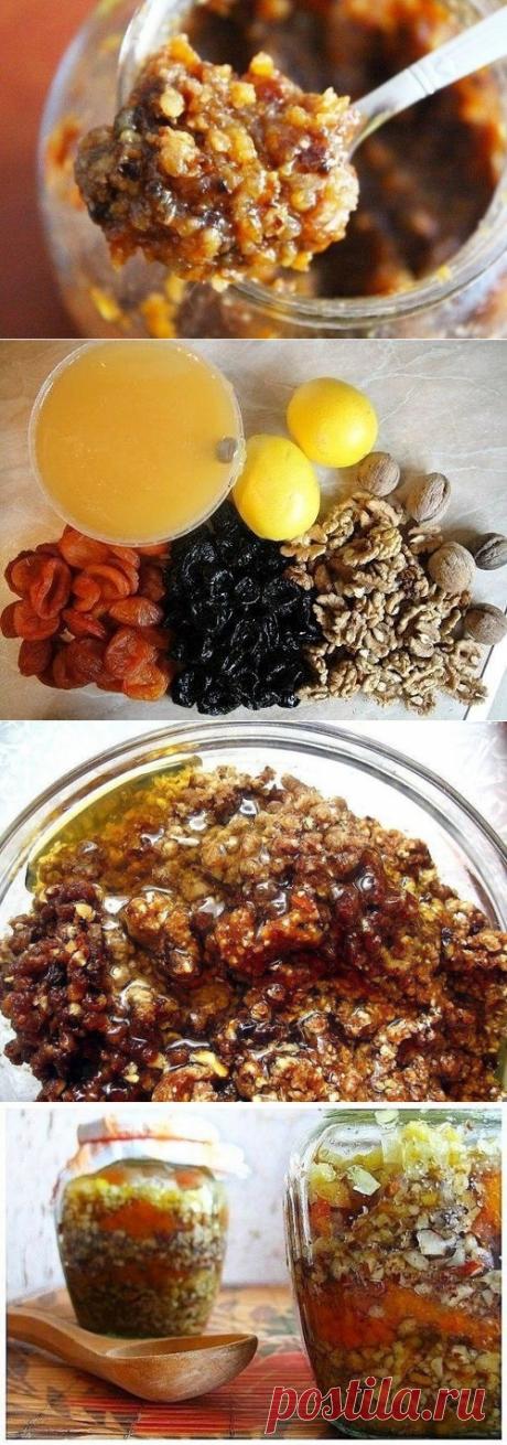 Как приготовить два рецепта вкусных смесей для укрепления иммунитета. - рецепт, ингредиенты и фотографии