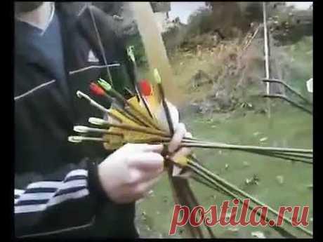 Методика скоростной стрельбы из лука - YouTube