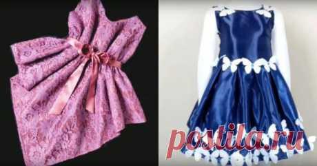 Простые платья без выкройки Говорят, в женском гардеробе новое платье никогда не будет лишним, причем в любом возрасте. И это действительно так. А как прекрасно, если платье это можно не покупать, а сшить самостоятельно, сэконом...