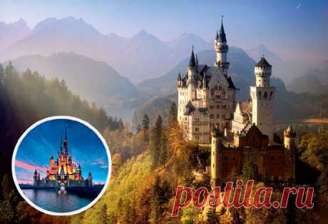 7 real places which were included in the famous animated films | Publications | Round the world