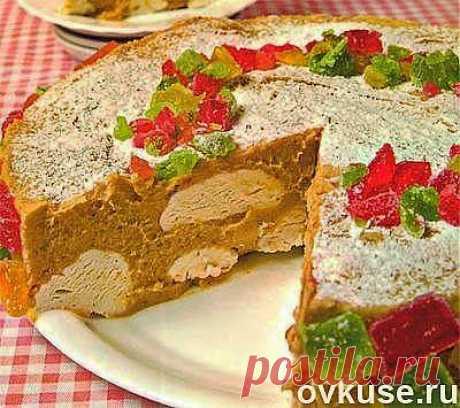 "Торт  ""Зефирное лакомство"""