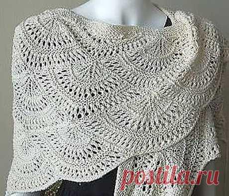 Ivelise Hand Made: Красивая шаль.