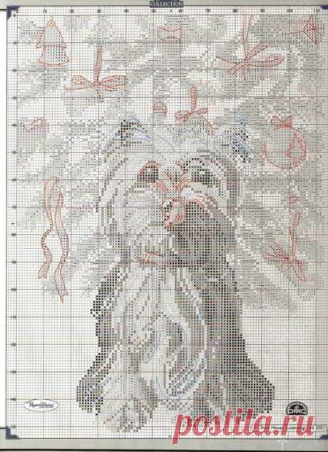 (10) Gallery.ru / Фото #36 - Животные (схемы вышивки)- 1 часть - IrMa77