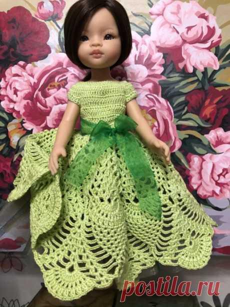 Бальное платье для Паолочки.