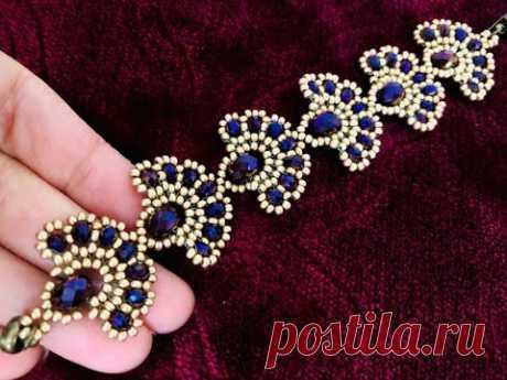 Танец Павлин браслет / / DIY бисером браслет | / как сделать браслет из бисера