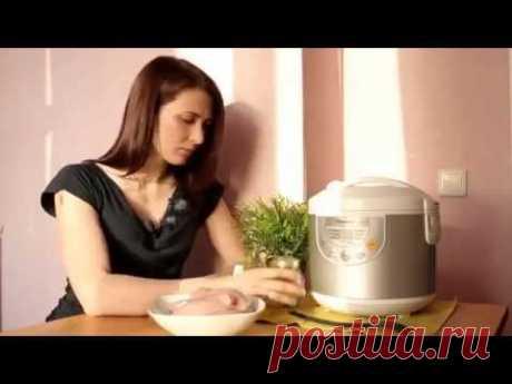 Диетический рецепт - Куриная грудка в мультиварке