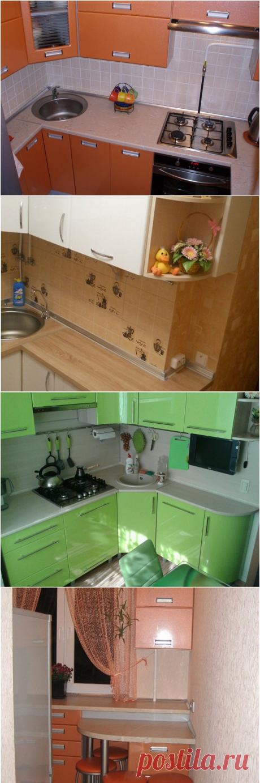 Идеи дизайна кухни в хрущевке (44 фото)   Дизайн кухни, интерьер, ремонт, фото