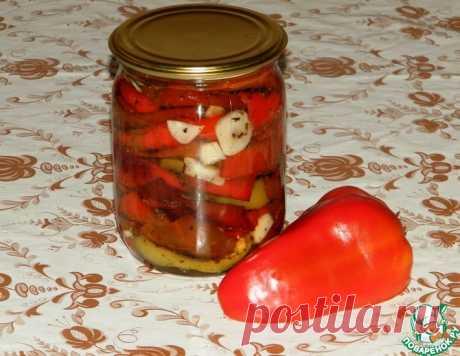 Вяленый болгарский перец на зиму – кулинарный рецепт