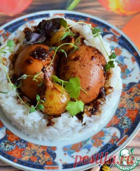 Яйца в соевом соусе – кулинарный рецепт