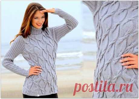 Красивые свитеры, джемперы и пуловеры для тёплой и нарядной зимы | Paradosik_Handmade | Яндекс Дзен