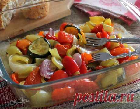Ароматные овощи в духовке - Почта Mail.Ru