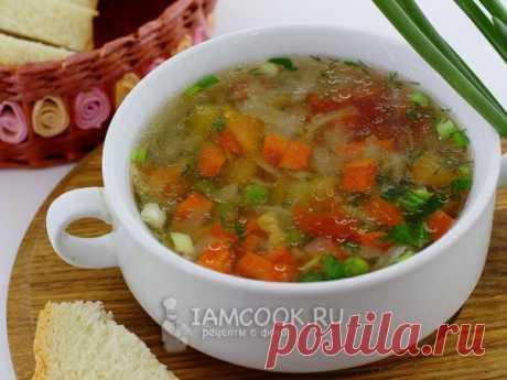 Диетический суп из овощей