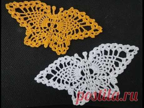 Pineapple butterfly of Butterfly Crochet