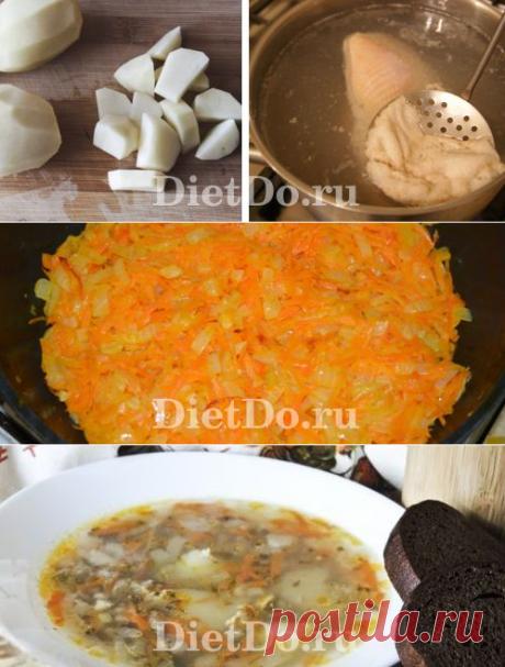 Гречневый суп с курицей: ТОП-10 рецептов с фото пошагово