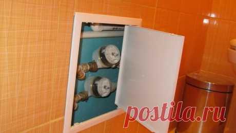 Как аккуратно спрятать трубы в туалете - три лучших способа!