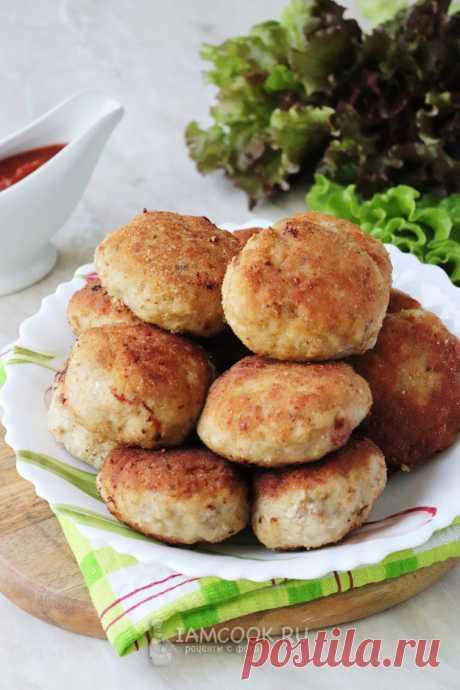 Котлеты по-хлыновски (с картофелем) — рецепт с фото пошагово