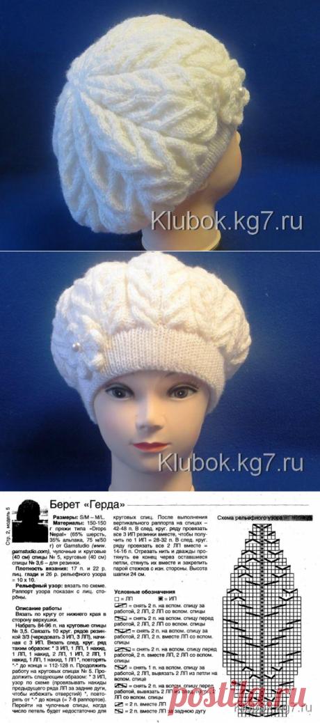 Берет   Клубок